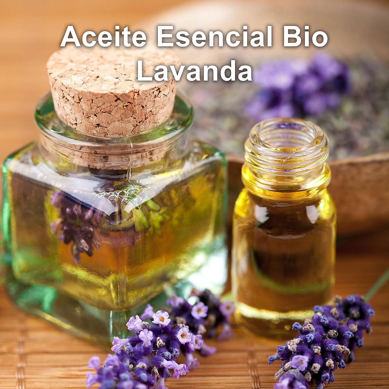 Aceite Esencial de Lavanda Puro 30ml Aceite Esencial Bio Aromaterapia Relajación Quimitipado Masajes Terapéutico Ideal Humidificador Ultrasónico ...