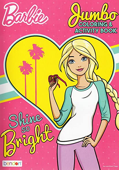 Barbie Coloring Activity Book