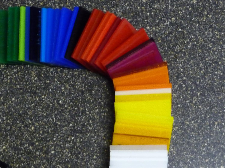 700 x 500 mm, 4 mm Plaque Polycarbonate UV diff/érentes Tailles transparente 2-20 mm PC incolore large s/élection alt-intech/® /épaisseurs