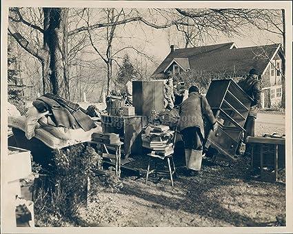 Amazon com: 1940 Photo Furniture Outside Yard House Historic