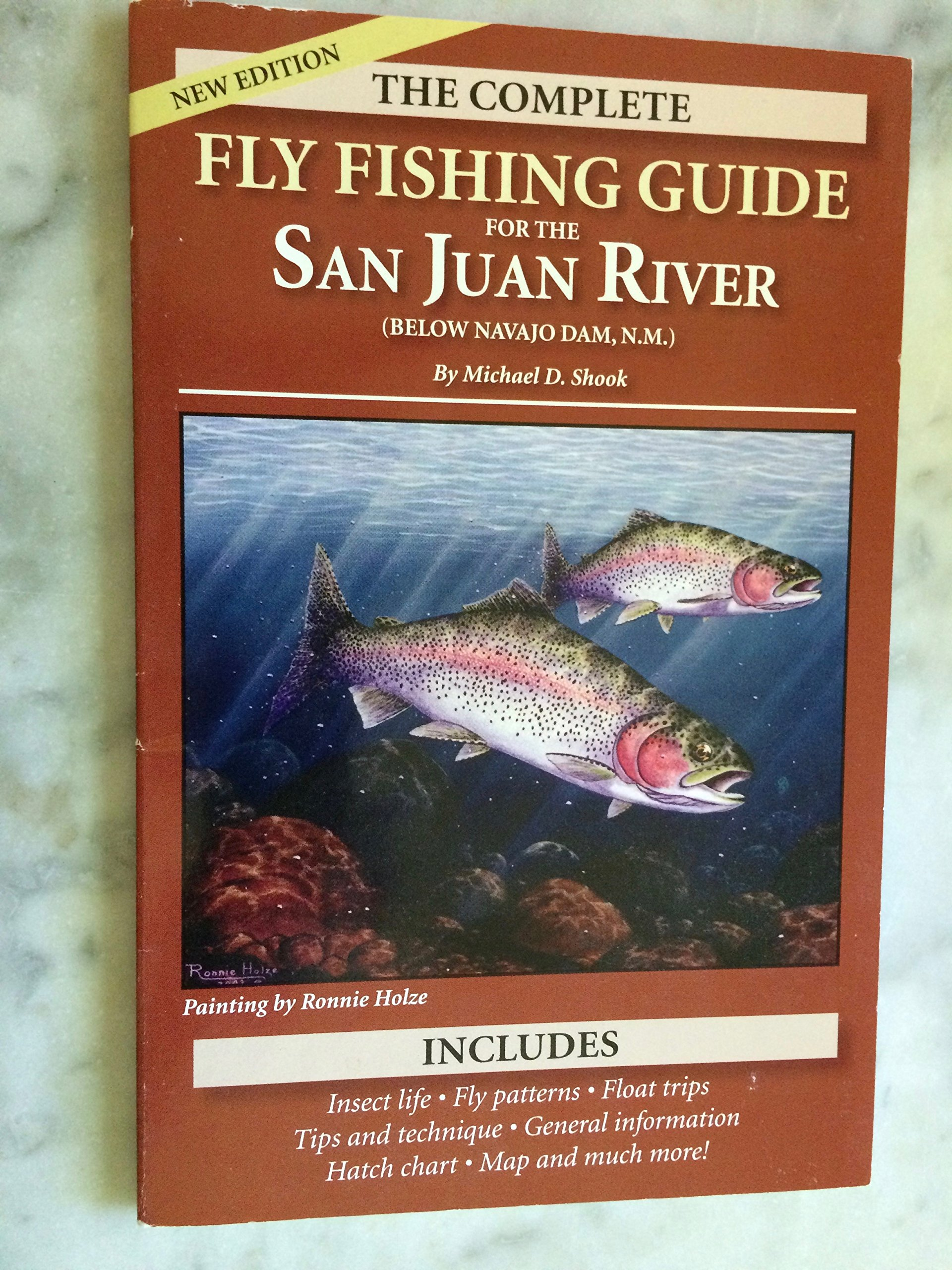 The Complete Fly Fishing Guide to the San Juan River (Below Navajo Dam,  N.M.), Second Edition: Michael D. Shook: 9781889450162: Amazon.com: Books