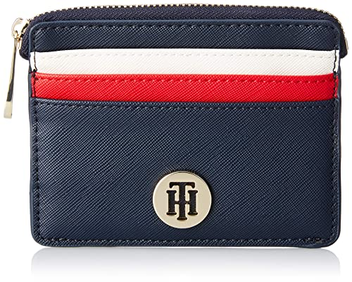 fa31cf6441f8 Tommy Hilfiger Honey Cc Holder, Women's Credit Card Case, Blue (Corporate),