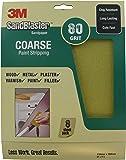 3M SandBlaster 28080 Coarse P80 230 x 280mm Sandpaper Sheets (8 Sheets)