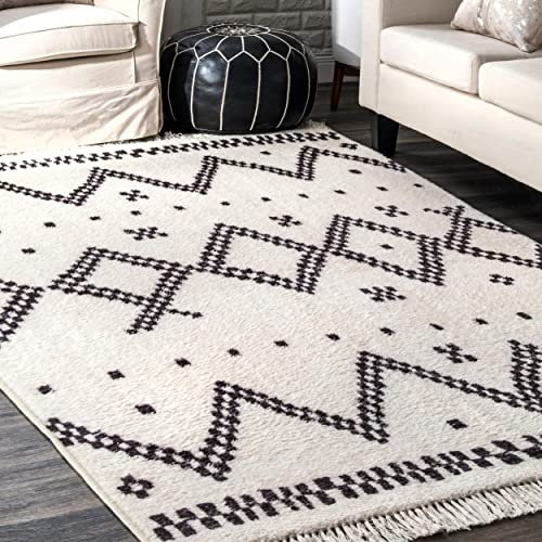 nuLOOM Tracy Moroccan Area Rug, 5 x 8 , Off-white