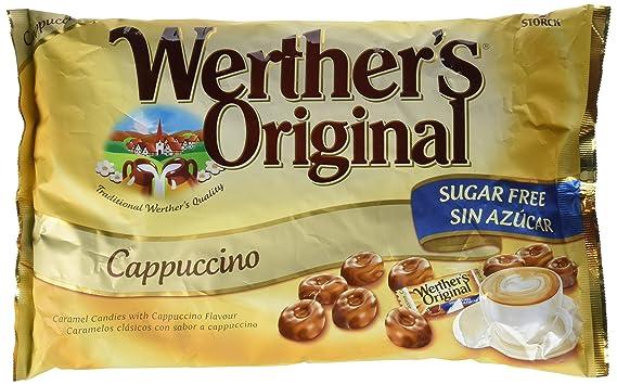 Werthers Original Caramelos de Crema de Café Sin Azúcar - 2 Paquetes de 1000 gr -