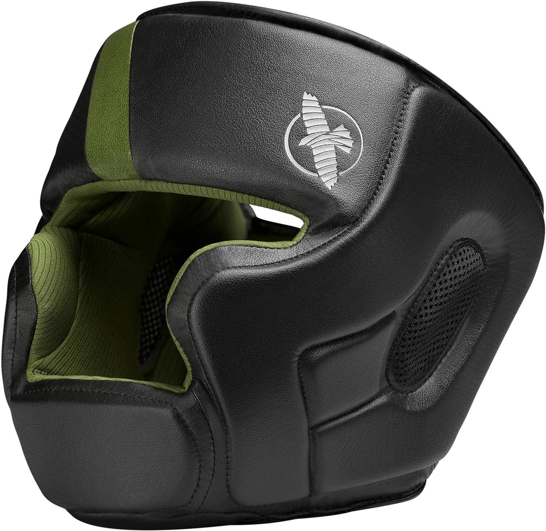 Hayabusa t3 Headgear ブラック/グリーン One Size