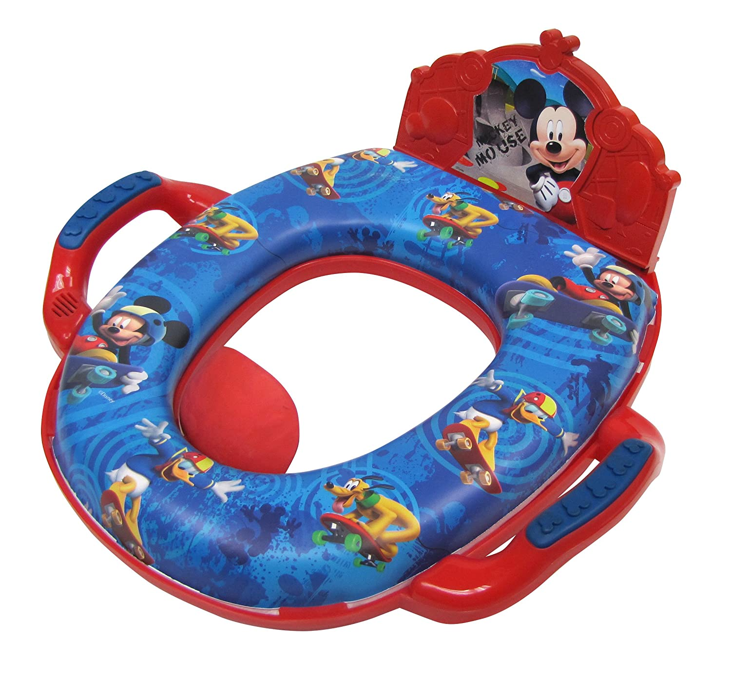 Amazon.com : Disney Mickey Mouse Deluxe Potty, Red : Baby