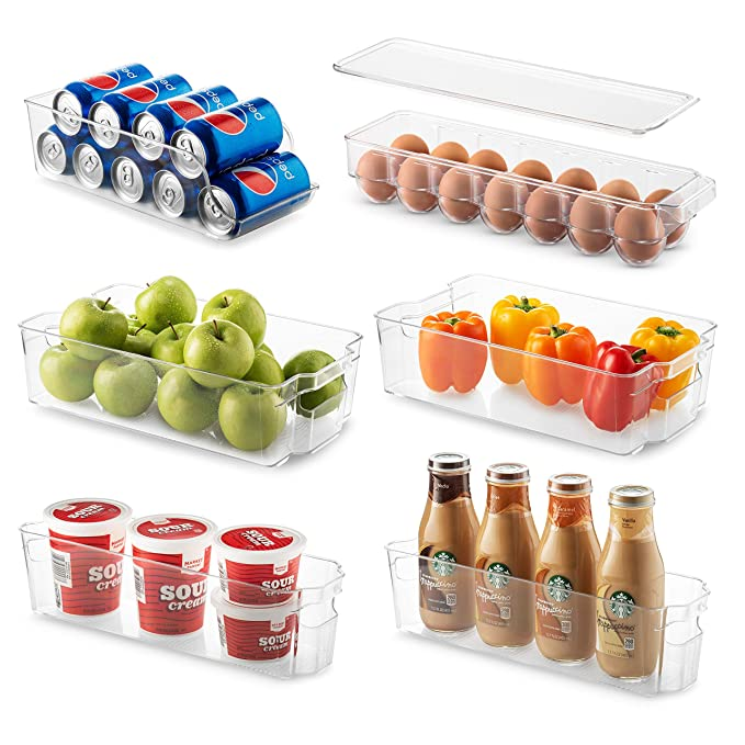 fridge organizers amazon, affordable home decor ideas kitchen