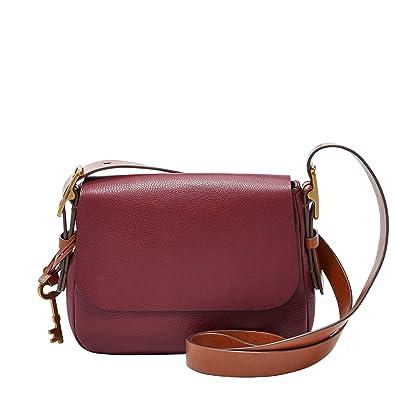 c5e908040cb8 Fossil Harper S Shoulder Bag wine  Amazon.co.uk  Shoes   Bags