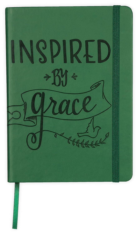 Angelstar Inspired by Grace decorativo notebook, 12,7 x 17,8 cm verde smeraldo