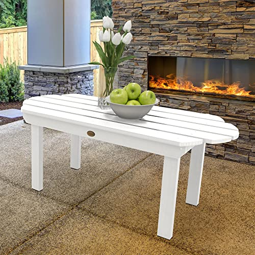 highwood AD-TBL-CW3-WHE Classic Westport Conversation Table, White