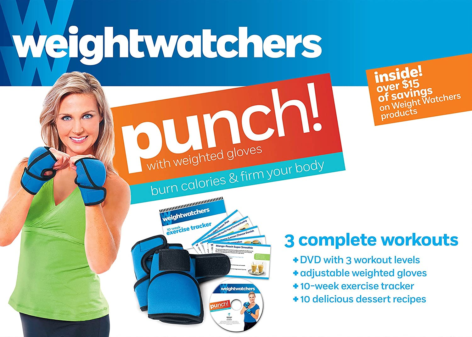 Amazon.com : Weight Watchers: Punch! 3 Complete Workouts : Weight ...