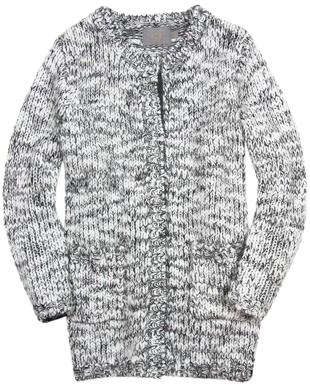 Sizes 9-14 Creamie Girls Long Knit Cardigan Merete