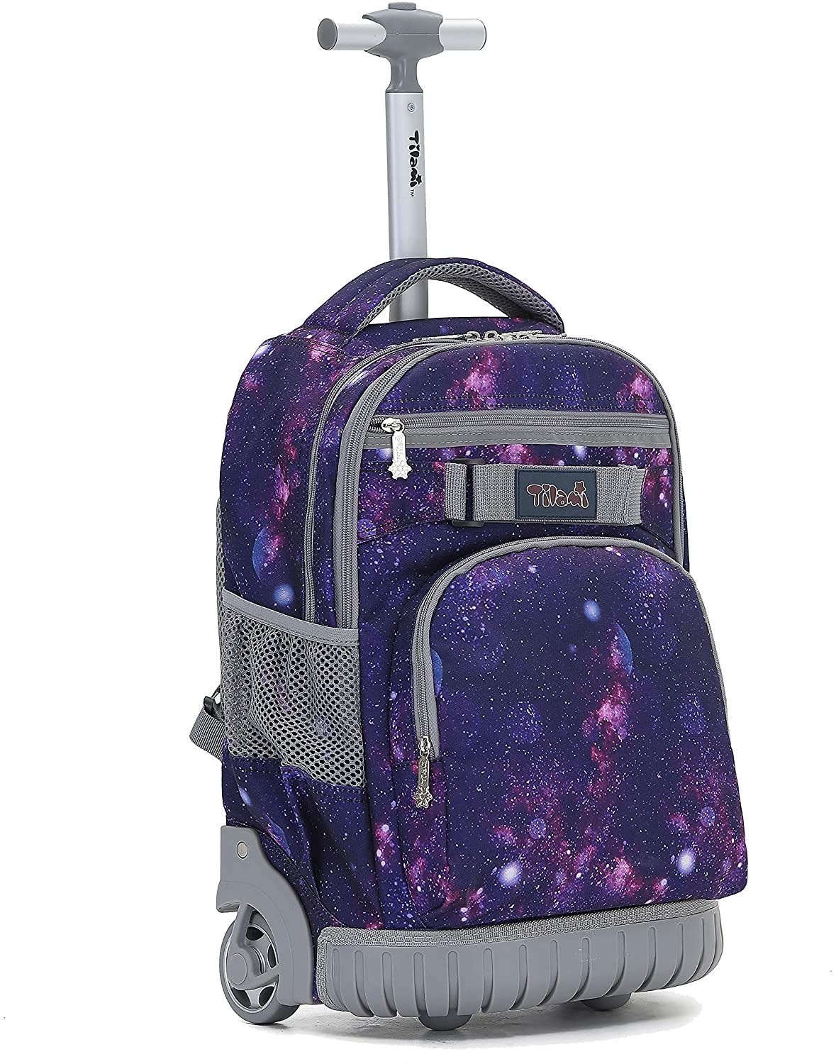 Rolling Backpack 19 inch Wheeled LAPTOP Boys Girls Travel School Student Trip…