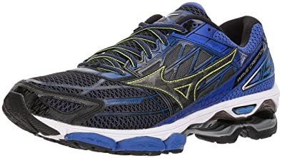 Mizuno Men's Wave Creation 19 Running Shoe, Black, ...