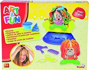 Simba - Art & Fun Dough Set Hairstudio, For