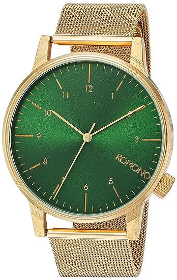 Orologio da Polso Unisex Komono Winston Royale KOM,W2355, Oro/Verde  Amazon.it Orologi