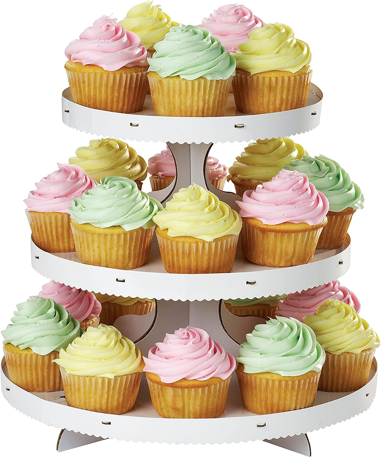 """12 Cupcake Toppers Anniversaire Tranches Crâne 7.5/"""" Cake Topper 1003 Givrage Feuille"""