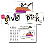 Snapwords List C Sight Word Pocket Chart Cards