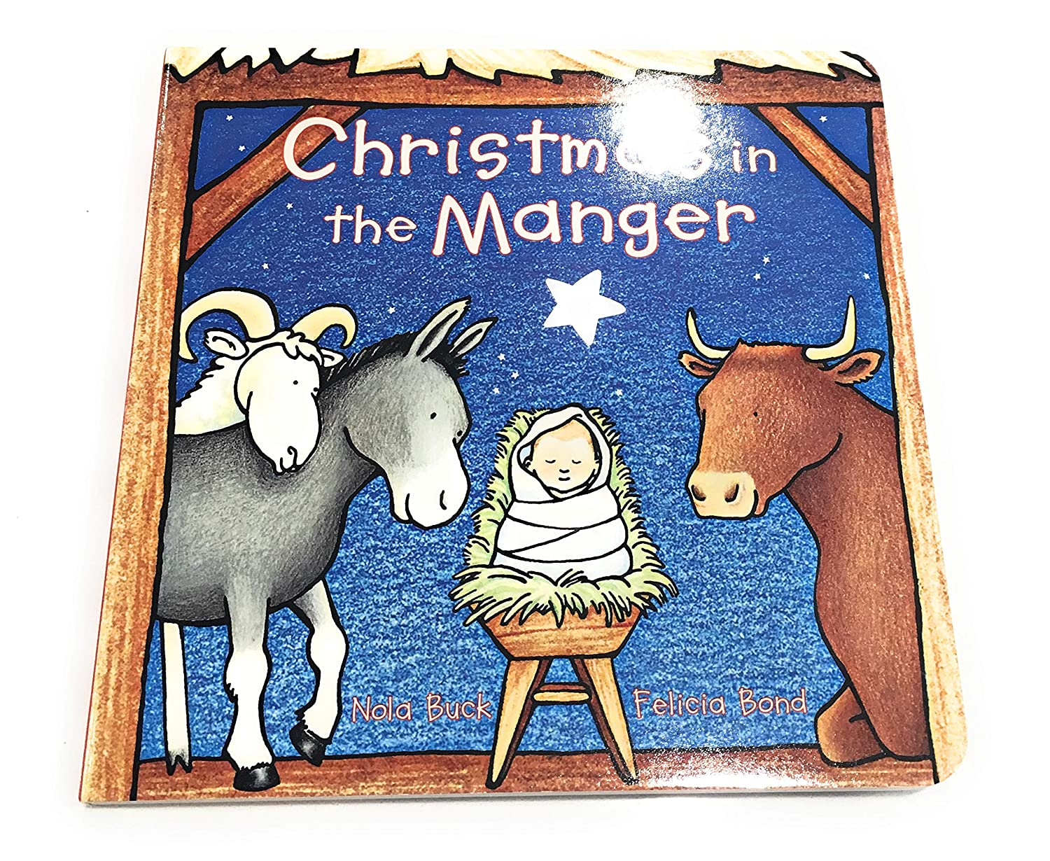 Christmas Toy /& Animals Shepherds Simple Quality Includes Christmas in The Manger Board Book Figures Include Mary Joseph Baby Jesus Wise Men Nativity Playset for Children 19 Pieces by BibleToys Bundle