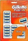 Gillette Fusion Rasierklingen für Männer, 1er Pack (1 x 14 Stück)