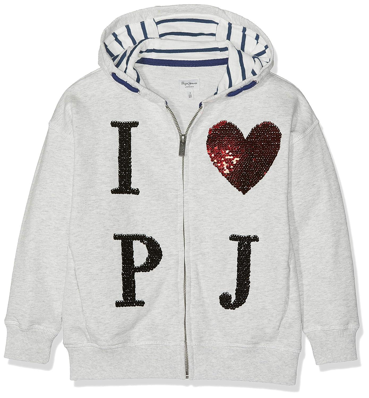 gris (lumière gris Marl 913) 7 ans  Pepe Jeans Cindy Sweat-shirt Fille