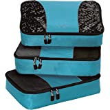 eBags Classic Medium 3pc Packing Cubes (Aquamarine)