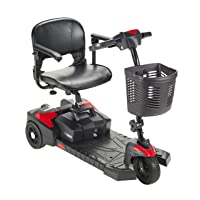 Drive Medical Scout Compact Travel Power Scooter, 3 Wheel, Extended Battery