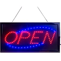neon light up signs cheap led open sign for business displays light up with flashing modes amazon best sellers neon signs