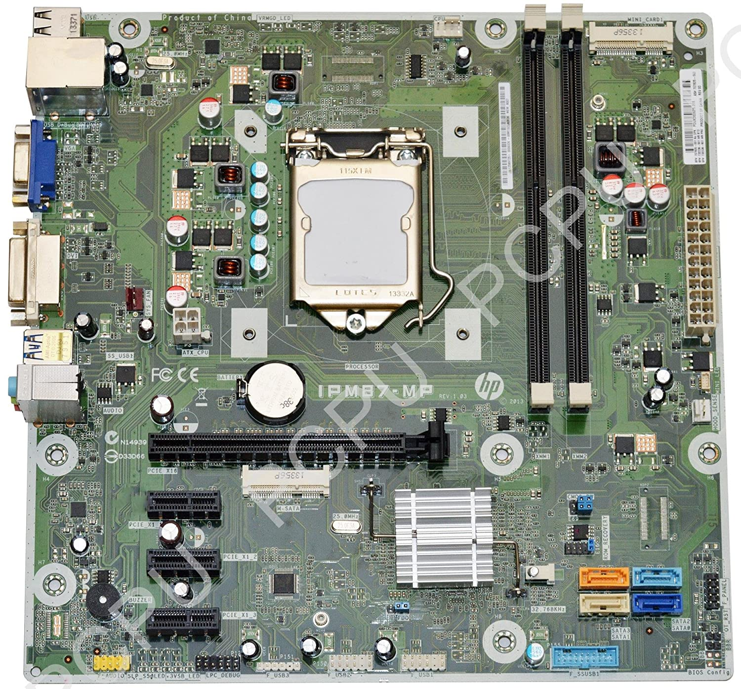 Amazon.com: 732239-502 HP Envy 700 Memphis-S Intel Desktop Motherboard  s115X: Computers & Accessories