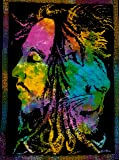 ICC Bob Marley Lion Face Poster 30x40In Hippie Bob Marley Bohemian Poster , Christmas Decoration,Christmas Poster For Windows, Christmas gift, Bob Marley Tapestry Wall Hanging, Bob Marley Dorm Decor