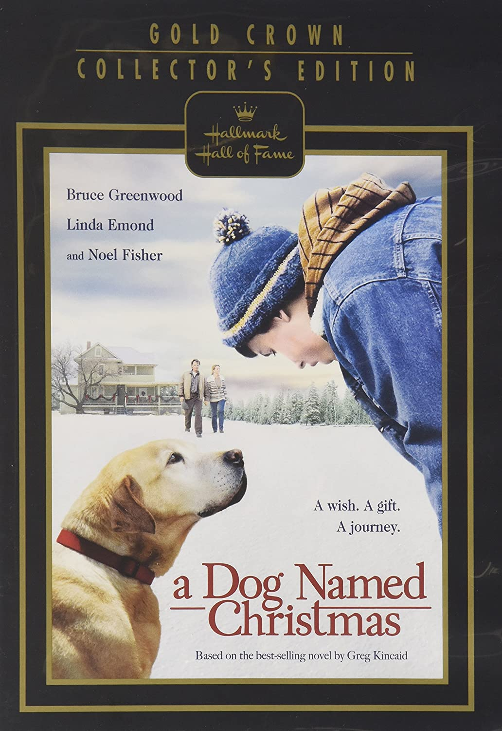 Amazon.com: A Dog Named Christmas DVD (Hallmark Hall of Fame): Linda ...
