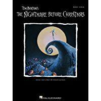 Tim Burton's The Nightmare Before Christmas Songbook: P/V/G (Piano Vocal Series) book cover
