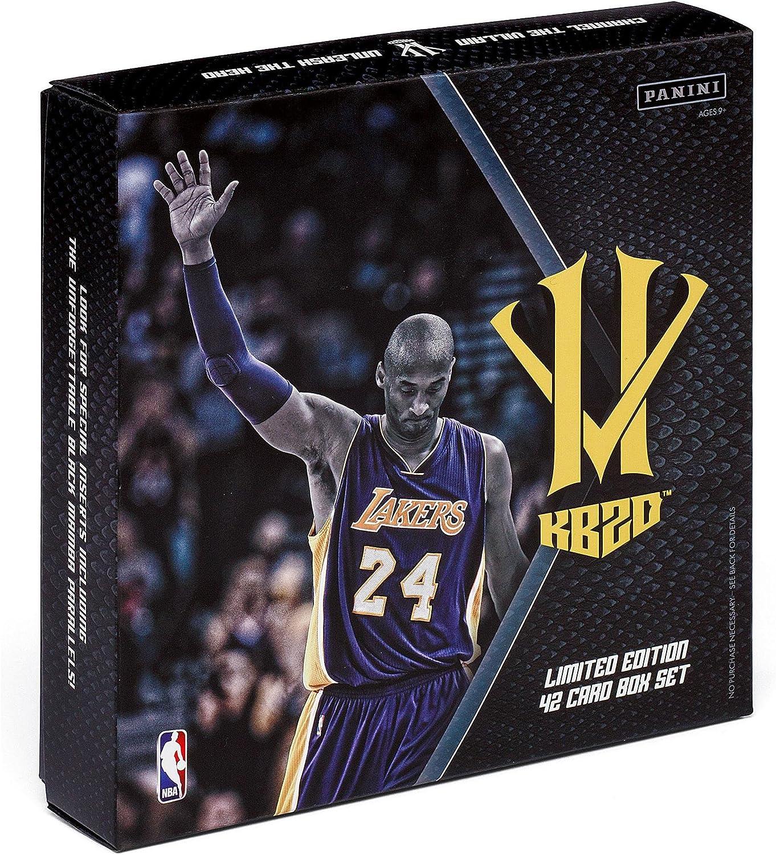 Panini - Caja de cromos de 2016 de Kobe Bryant Los Angeles Lakers ...