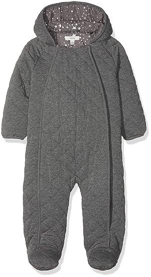 NAME IT Nbnmilk Suit, Traje de esquí Bebé-Niños, Gris (Grey ...