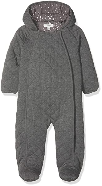 NAME IT Nbnmilk Suit, Traje de esquí Bebé-Niños, Gris (Grey ...