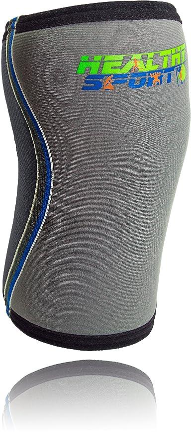43 opinioni per Healthy Sport Ginocchiere ad alta resistenza- Tutore ginocchio anatomico in
