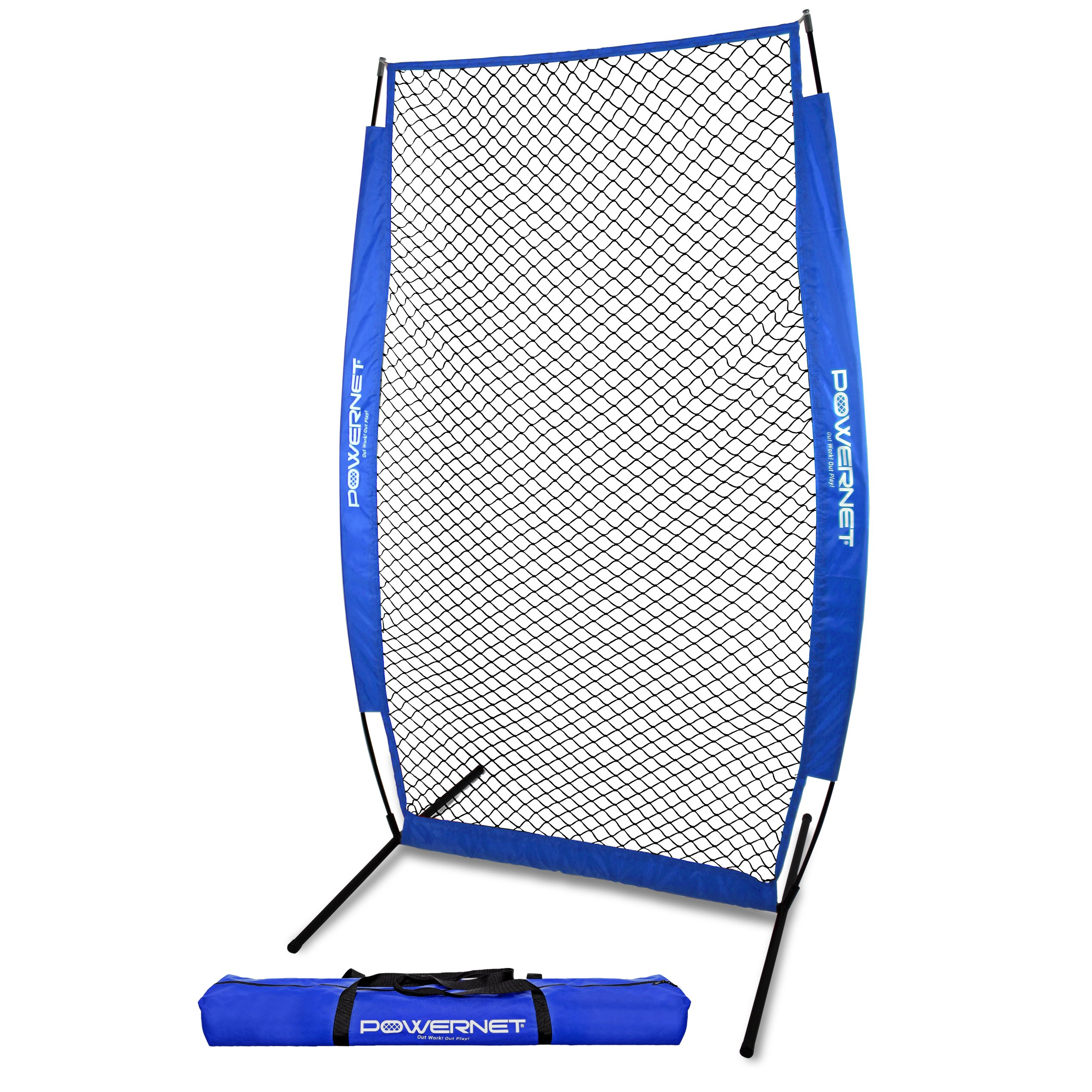 PowerNet I-Screen with Frame and Carry Bag (Royal Blue)