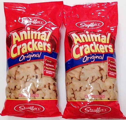 Stauffer's Animal Crackers Original 11 oz bag (2 bags 22 oz total)