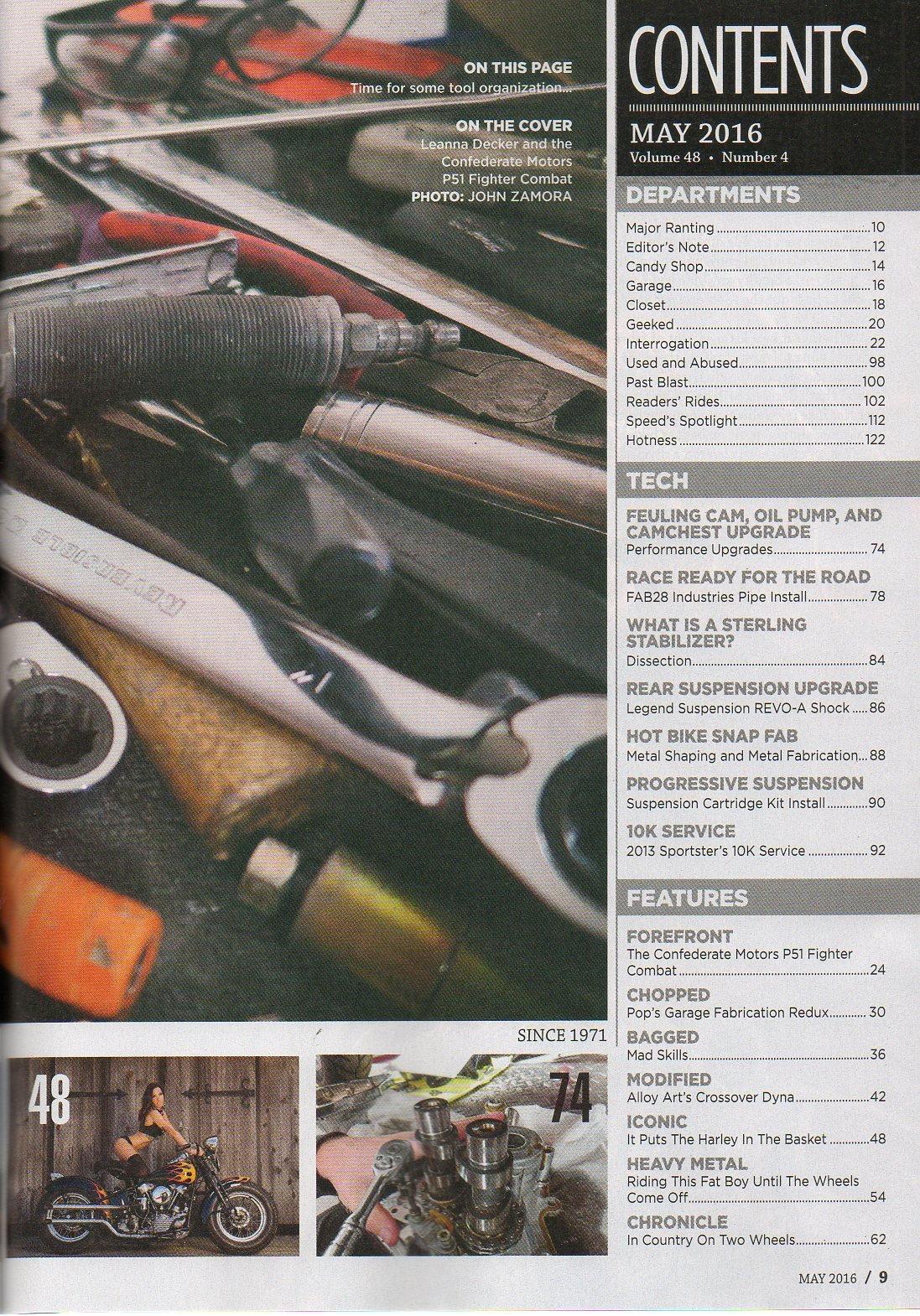 Hot Bike May 2016 Magazine THE