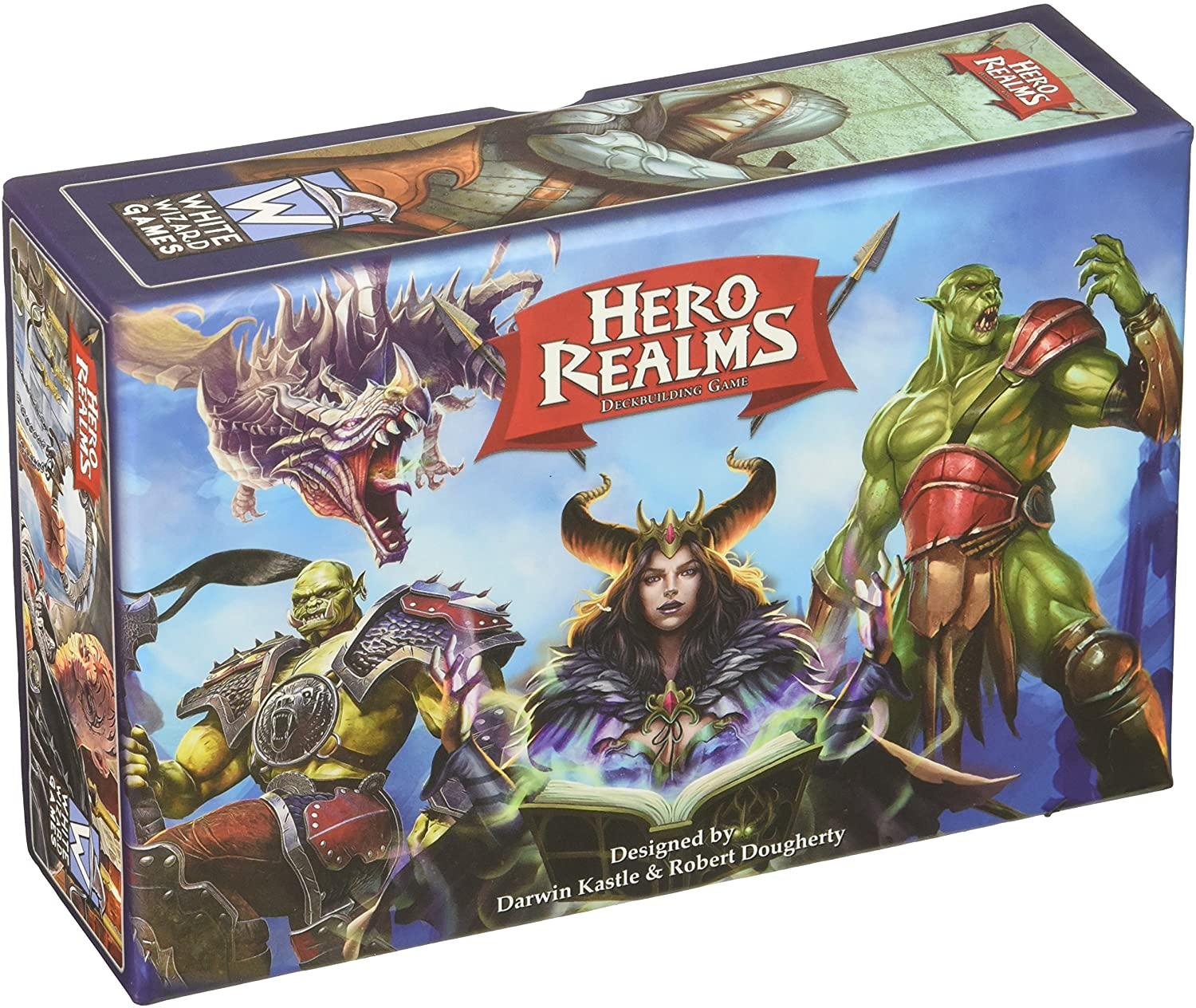 White Wizard Games Hero Realms - Juego de cartas - Ingles , color/modelo surtido: Amazon.es: Juguetes y juegos