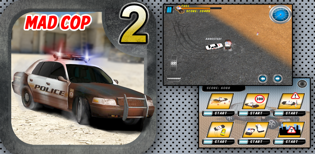 mad cop 2 police car race and drift. Black Bedroom Furniture Sets. Home Design Ideas