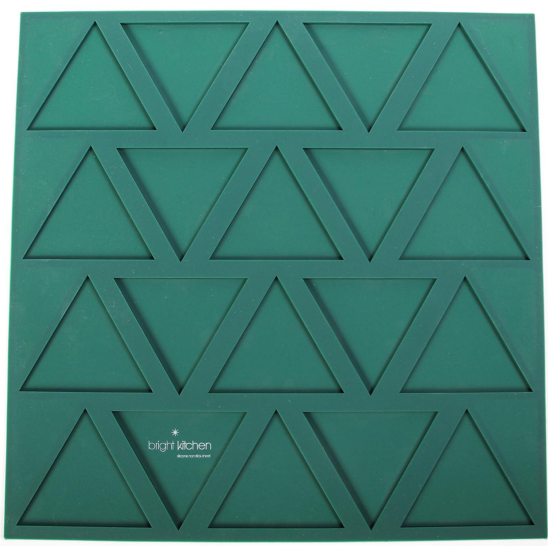Amazon.com: Dehydrator Triangle Chip Mold Shape Silicone Sheet Mat ...