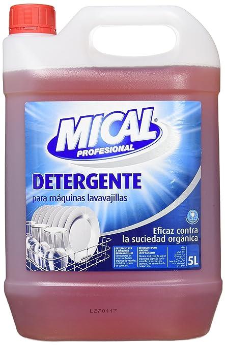 Mical Profesional Detergente Para Máquinas Lavavajillas, Eficaz ...