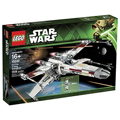 LEGO Star Wars 10240 Red Five X-Wing Starfighter Building Set (Discontinued by manufacturer): Toys & Games