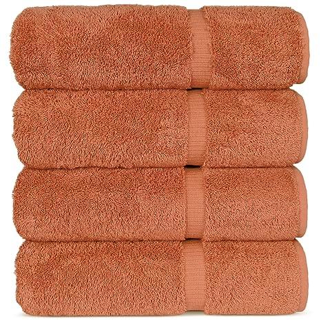 Lujosa toalla de baño para hoteles y spa. Algodón turco.