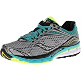 Saucony Women's Triumph 11 Running Shoe,Grey/Purple,9 M US