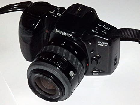 Minolta Maxxum 400si - Incluye LLL Minolta AF Zoom AF - Objetivo ...