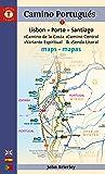 Camino Portugues Maps - Sixth Edition: Lisboa-Porto-Santiago (Camino Guides)