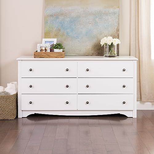 Prepac Monterey 6 Drawer Dresser